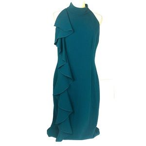 Eliza j Ruffle sheath dress